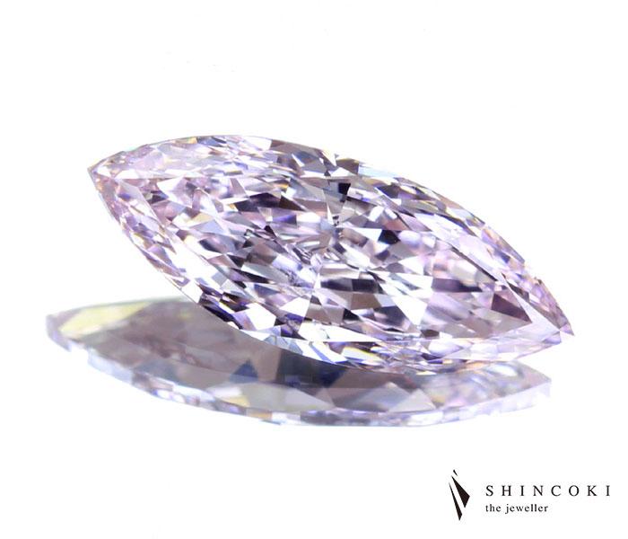ピンクダイヤモンド ルース 1.10ct FANCY LIGHT PURPLISH PINK VS2 ※GIA鑑定書付