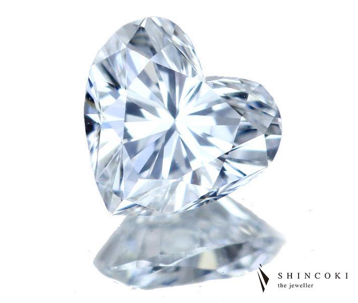 ダイヤモンド ルース 0.341ct E VS-2 ハートシェイプ