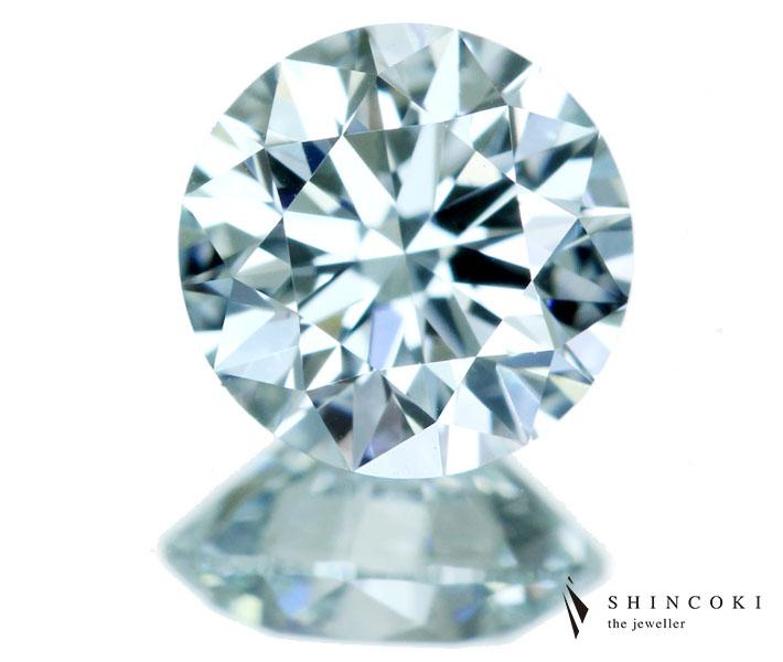 ブルーダイヤモンド ルース 0.502ct LIGHT GREEN BLUE VS-1 ※中央宝石研究所ソーティングシート付