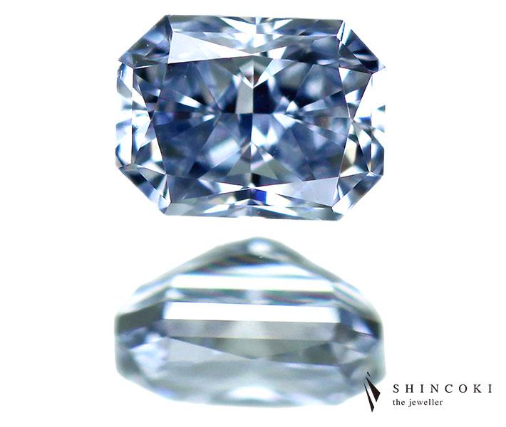 奇跡の天然ブルー0.211ct FANCY BLUE IF TYPE2B ブルーダイヤモンドルース※AGTソーティングシート付き