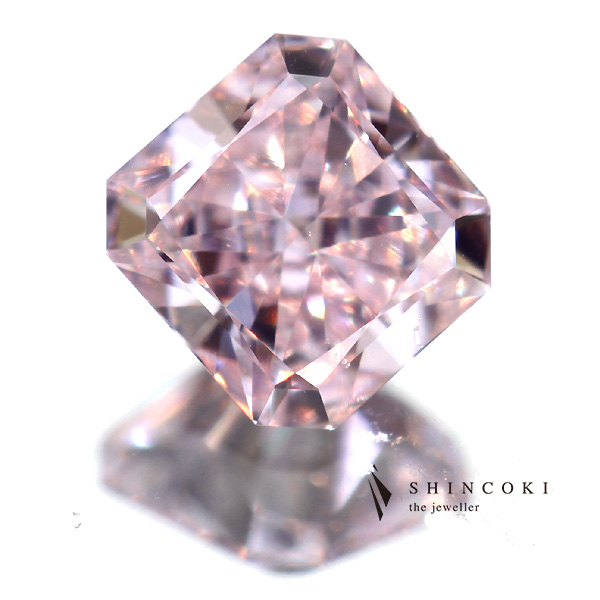 0.23ct FANCY PINK PURPLE SI1 パープルダイヤモンドルース※GIA COLORED DIAMOND GRADING REPORT付