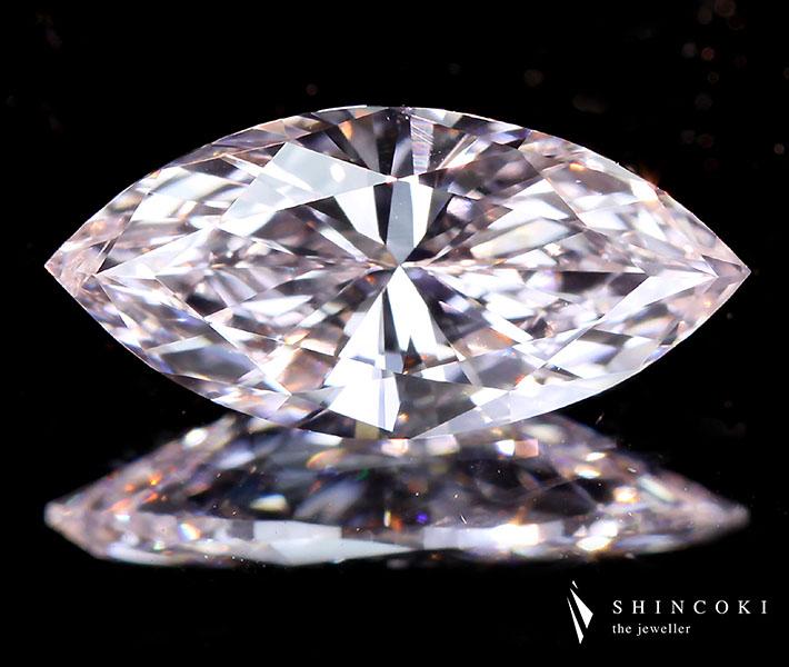 1.013ct FANCY LIGHT PINK SI1 TYPE2A ピンクダイヤモンドルース※中央宝石研究所ソーティングシート付