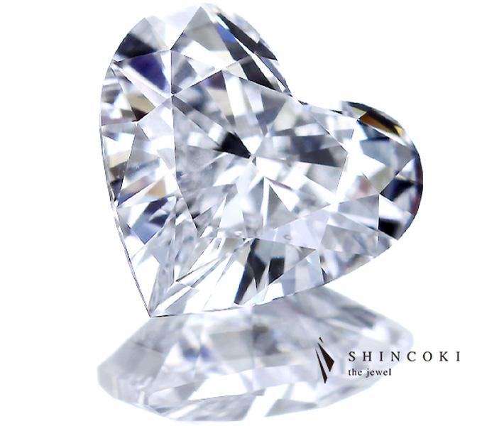 1.037ct D VS1 ハートシェイプカット ダイヤモンド ルース ※中央宝石研究所ソーティングシート付き