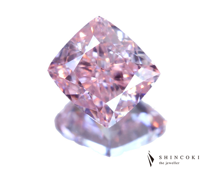 ピンクダイヤモンド ルース 0.26ct FANCY PINK VS2 ※GIA鑑定書付き