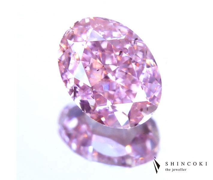 ピンクダイヤモンド ルース 0.234ct FANCY INTENSE PINK SI1 ※中央宝石研究所ソーティングシート付き