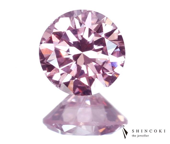 ピンクダイヤモンドルース 0.30ct FANCY INTENSE PINK SI1 ※GIA鑑定書付
