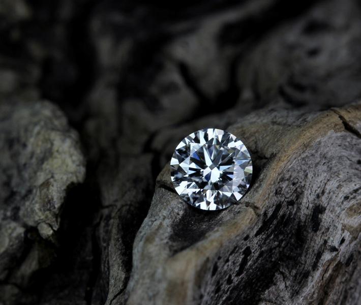 ダイヤ ダイヤルース エクセレントダイヤモンド ルース 0.42ct D VS1 3EX H&C ※中央宝石研究所ソーティングシート付