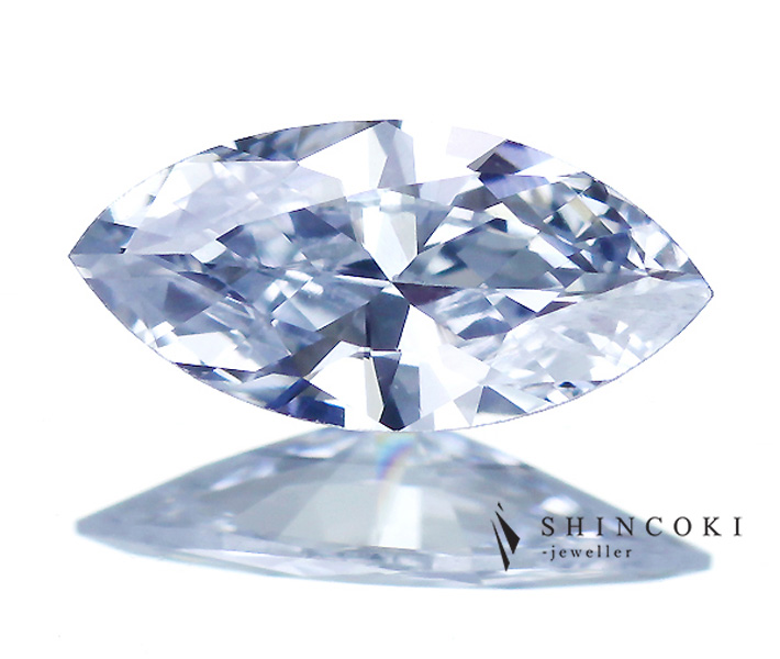 0.262ct FANCY LIGHT BLUE VS1 ブルーダイヤモンドルース※中央宝石研究所ソーティングシート付