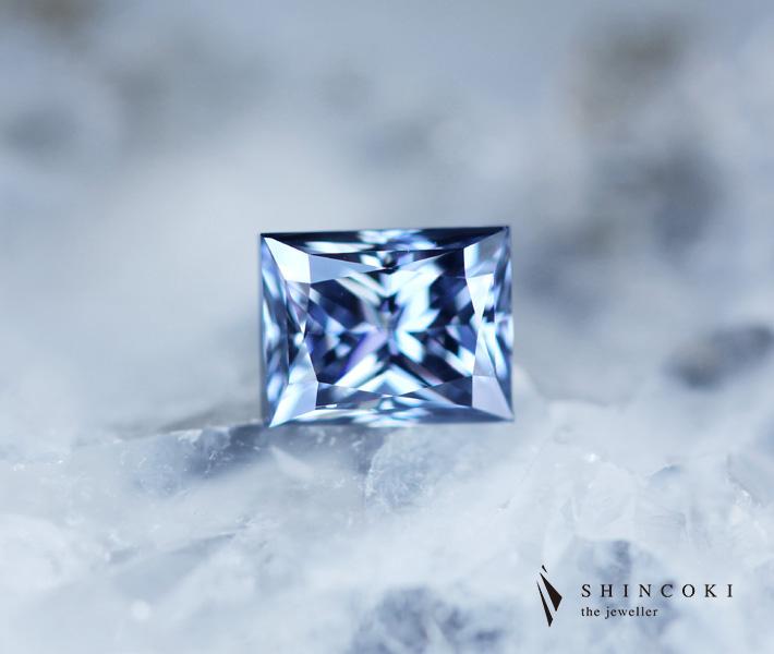 ブルーダイヤモンド ルース 0.303ct FANCY DEEP BLUE SI2 〔AGT〕