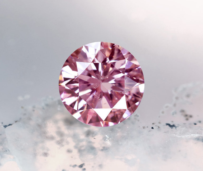 《CLOSING MOUNTAIN MUSEUM》【COLLECTOR'S LOT1】 コレクターズロット ピンクダイヤモンド FANCY PINK SI-2 0.401ct〔CGL〕